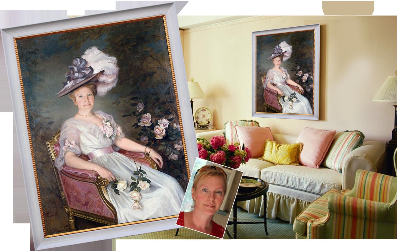 Картина с фотографии портрет с фотографии подарок на