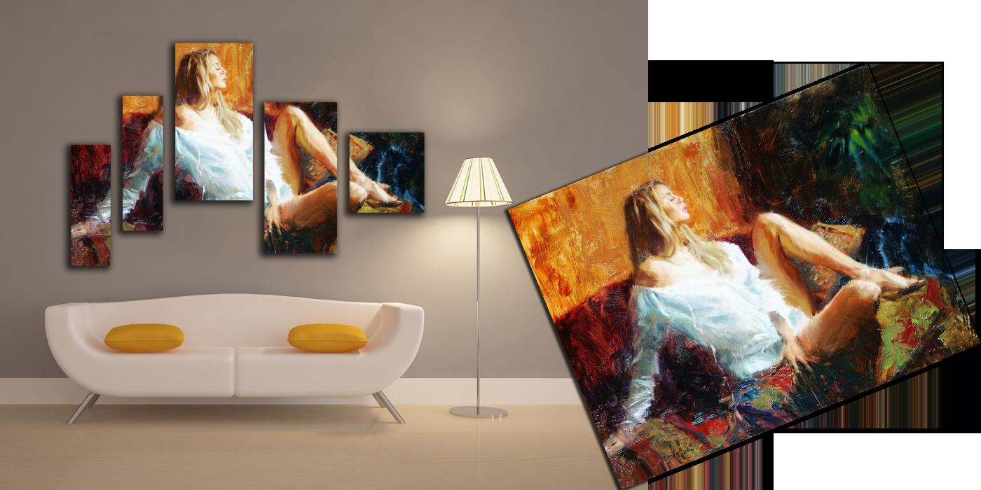 Картины со своим фото своими руками