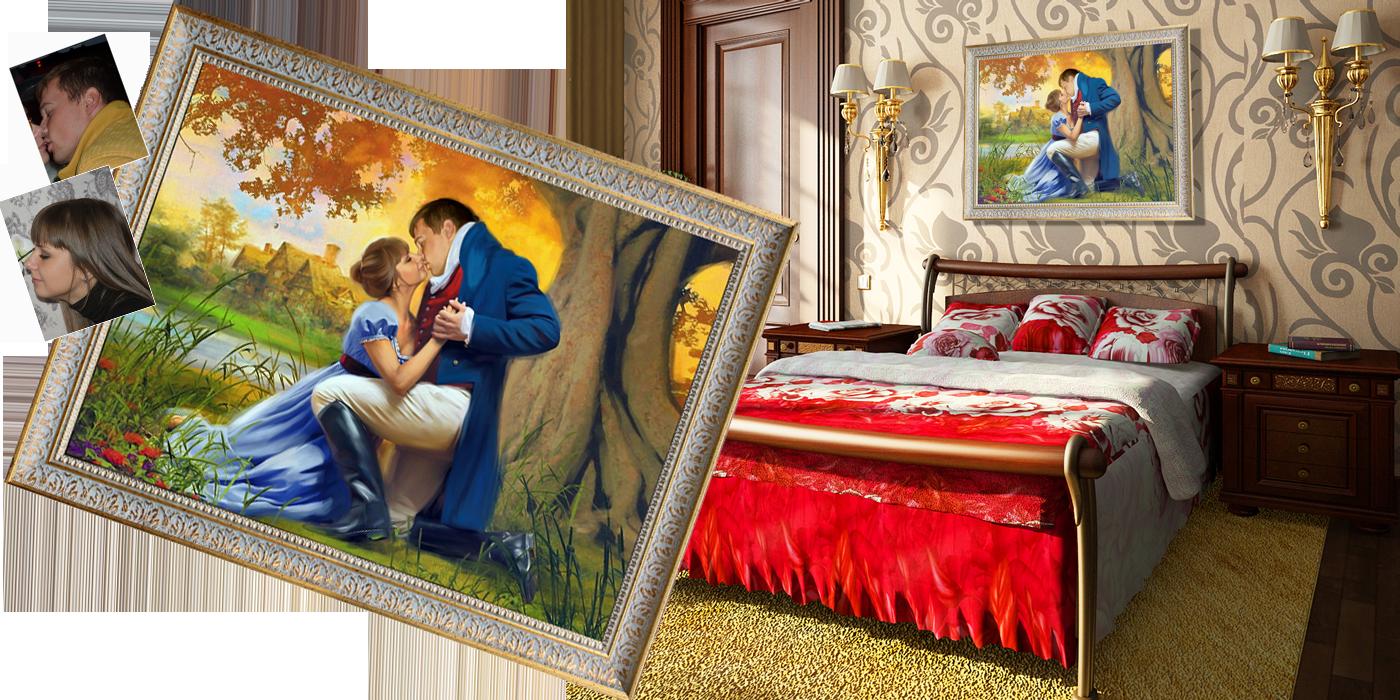 Картина подарок на свадьбу 69