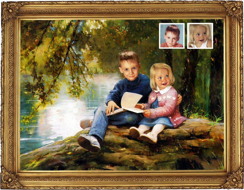 Рассказ как брат і сестра іграют 3 фотография