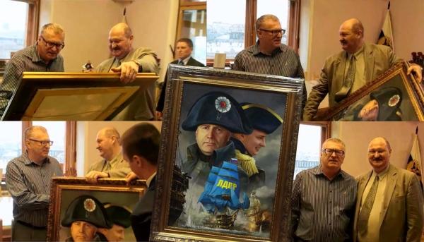 Оригинальный подарок на день рождения В.В.Жириновскому