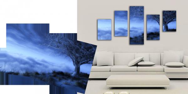 модульные картины