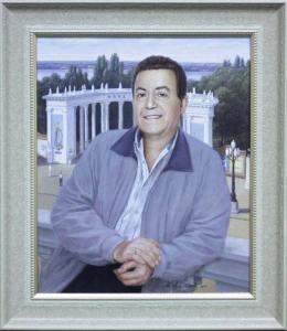 картина в подарок И.Д.Кобзону на 75-летие