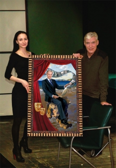Портрет Бориса Щербакова