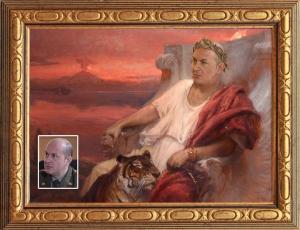 Вячеслав Гришечкин - образ Нерона Клавдия Цезаря