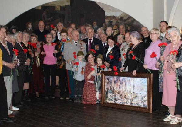 Репродукция картины «Победа» Петра Кривоногова в подарок ветеранам ВОВ.